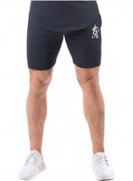 Gym King Retro Jersey Shorts Navy Nights