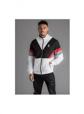 Retro Shell Jacket - White/Black/Red
