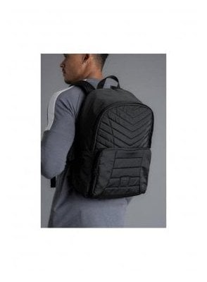 Shelter Quilted Backpack - Black