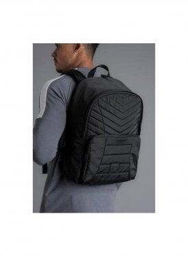 Shelter Quilted Backpack - Black