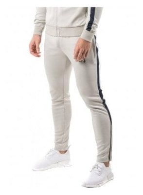 Gym King Tapered Polytrack Pant Concrete/navy Nights
