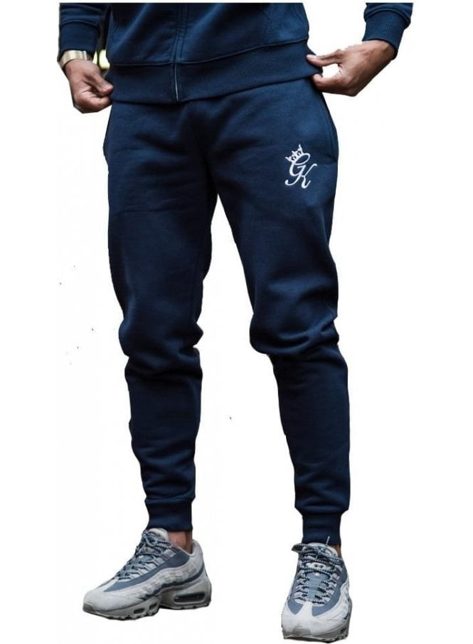 GYM KING Tracksuit Bottoms Blue Nights