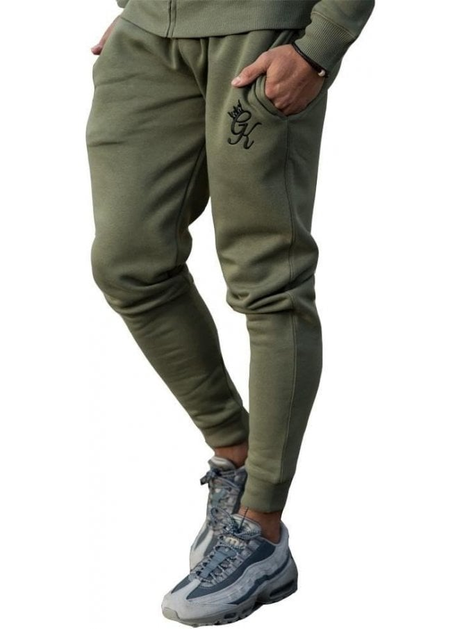 GYM KING Tracksuit Bottoms Burnt Olive