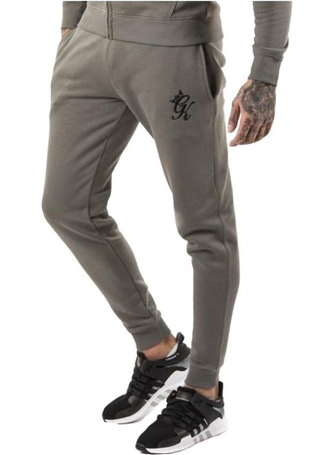 GYM KING Tracksuit Bottoms Castor Grey
