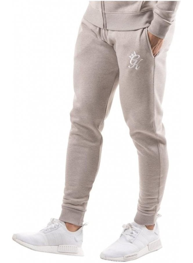 GYM KING Tracksuit Bottoms Oatmeal