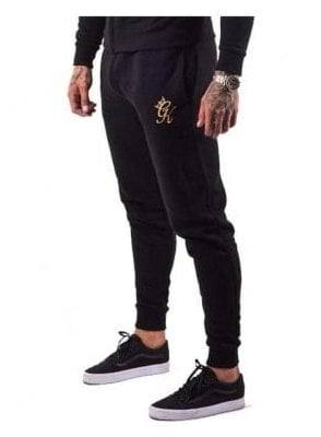 Tracksuit Core Range Bottoms Black/gold
