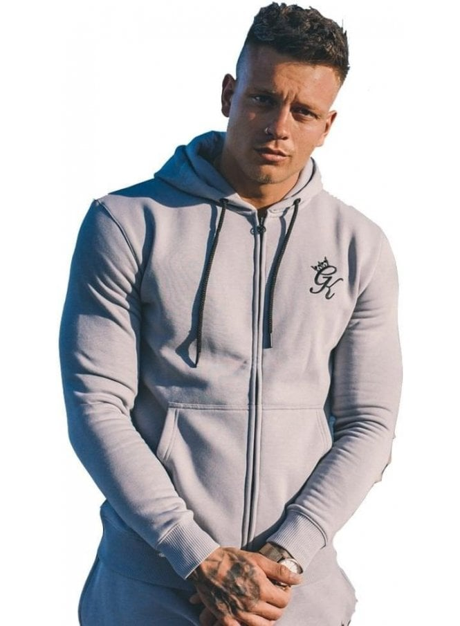 GYM KING Tracksuit Zip Top Drizzle