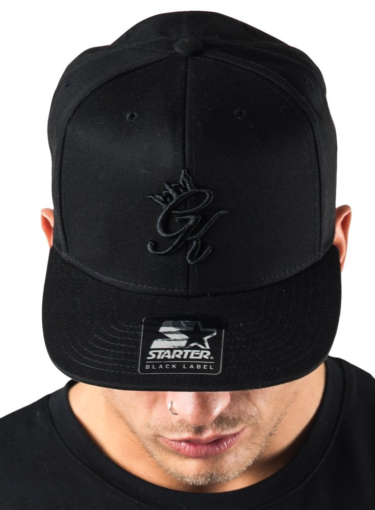 Gym King x Snapback Black - Designer menswear f6407e6d367
