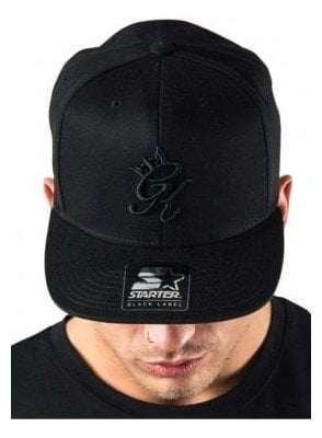 Gym King x Snapback Black