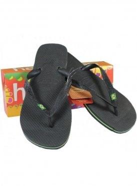Havaianas Brasil Flip Flop Black
