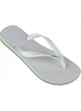 H Brasil Flip Flop White