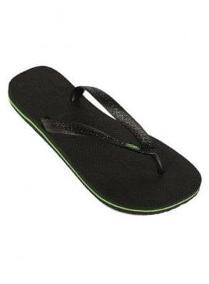 H Brasil Flip Flops Black