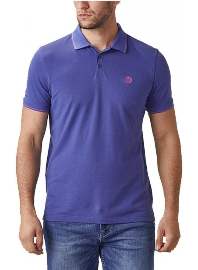 HENRI LLOYD Abington Regular Polo Tshirt Azul Blue