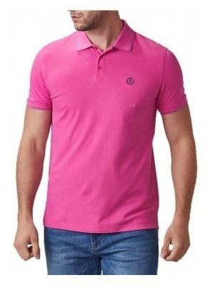 Abington Regular Polo Tshirt Cerise