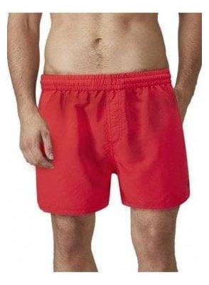 Brixham Mens Swim Short Red