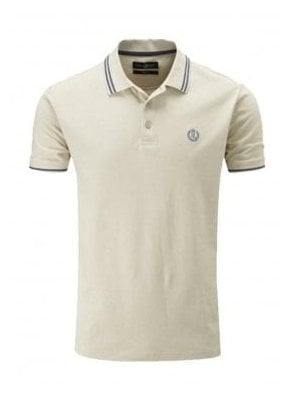 Byron Regular Fitting Polo Sand