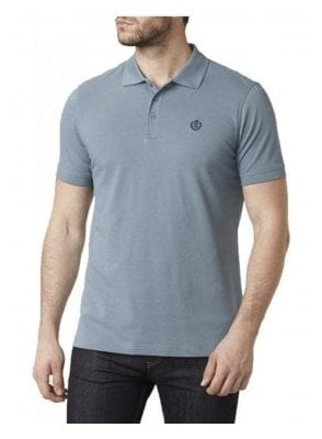 Cowes Regular Fitting S/s Polo Tshirt Blue