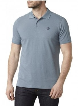 Cowes Regular Fitting S/s Polo Tshirt Blue