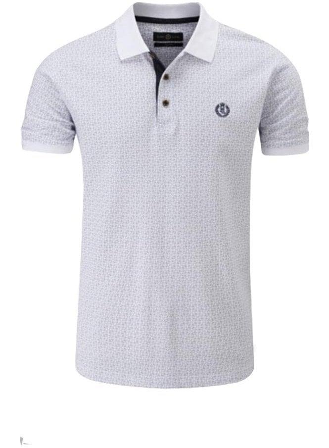 HENRI LLOYD Flixton Regular Fitting Polo White Blue