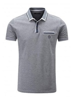 Highland Regular Fitting Polo Navy