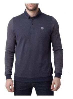 Kyre Long Sleeved Regular Button Down Navy