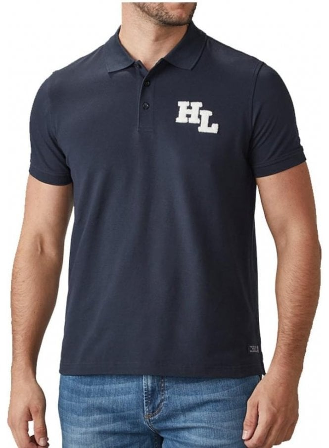 HENRI LLOYD Maitland Regular Branded Polo Tshirt Navy