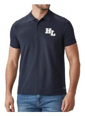Maitland Regular Branded Polo Tshirt Navy