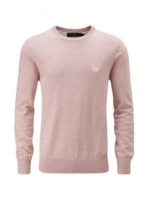 Moray Regular Crew Neck Thin Knit Jump Gum