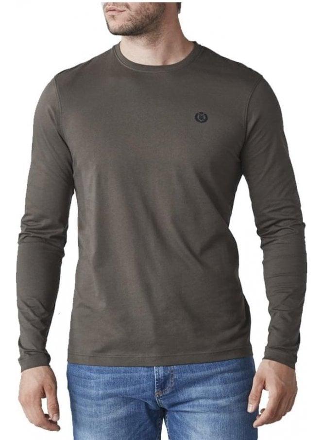 HENRI LLOYD Radar Regular Long Sleeved Tshirt Khaki