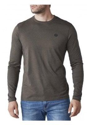 Radar Regular Long Sleeved Tshirt Khaki