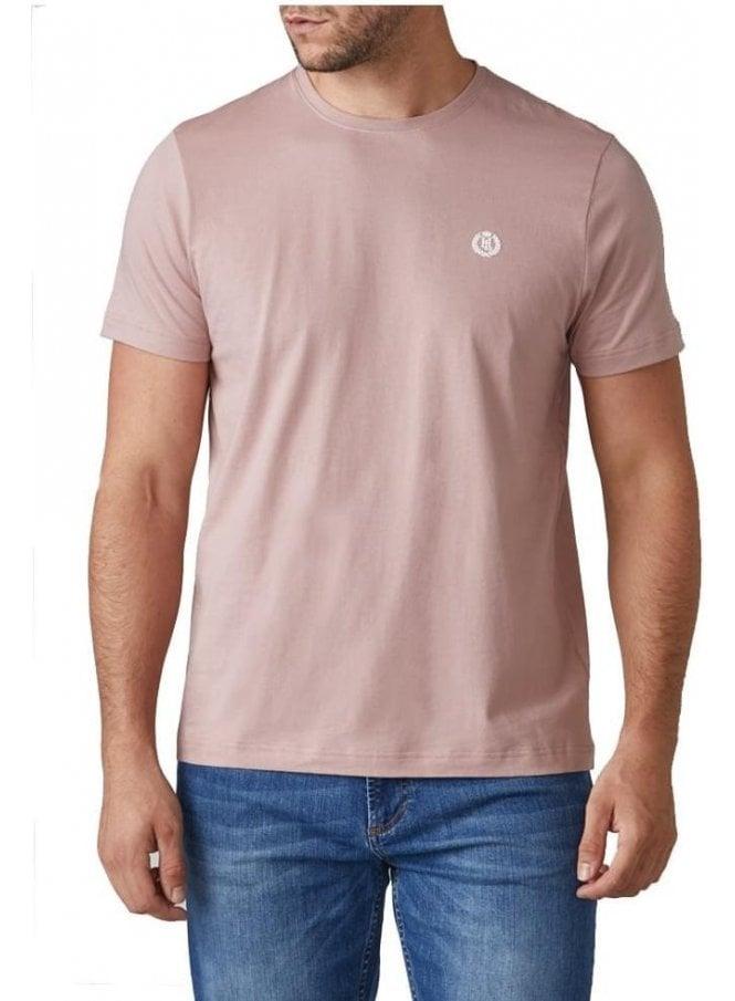 HENRI LLOYD Radar Regular Tshirt Dusky Pink