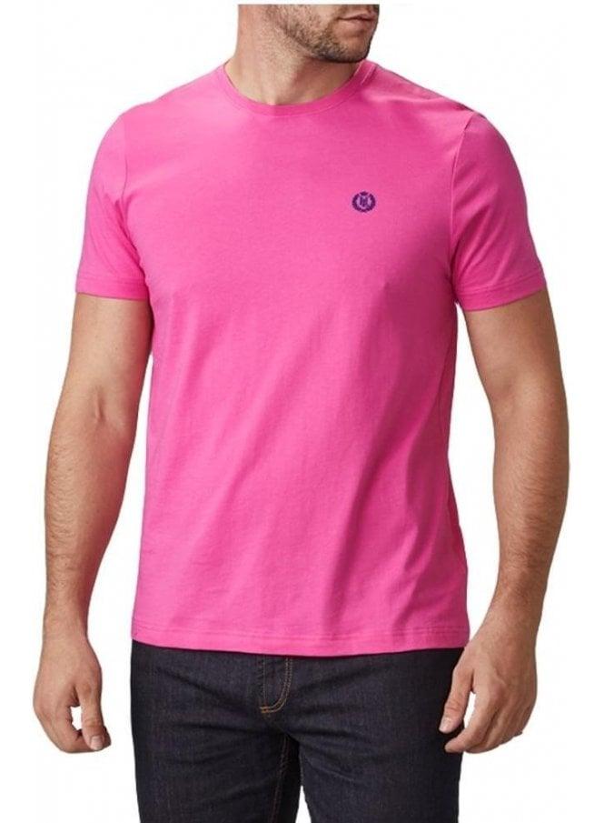 HENRI LLOYD Radar Regular Tshirt Fuschia Pink