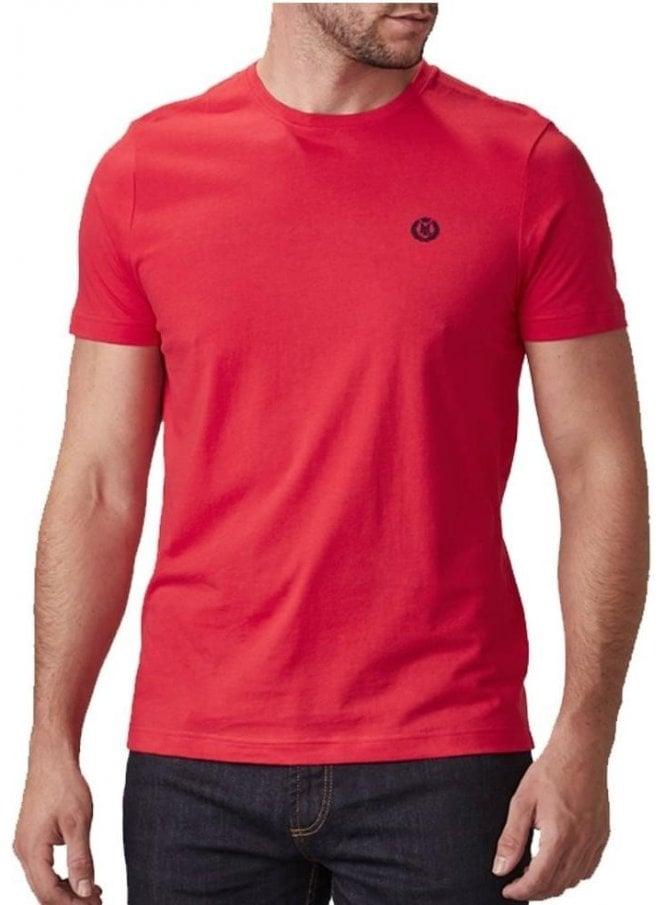 HENRI LLOYD Radar Regular Tshirt Red