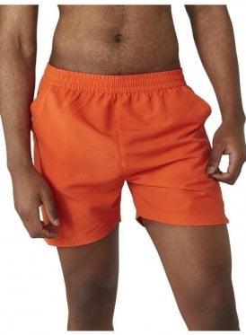 Sport Drift Mens Swin Shorts Red Orange