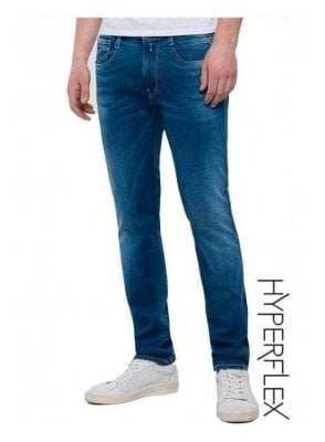Hyperflex Slim fit Anbass Jeans (Blue Denim)