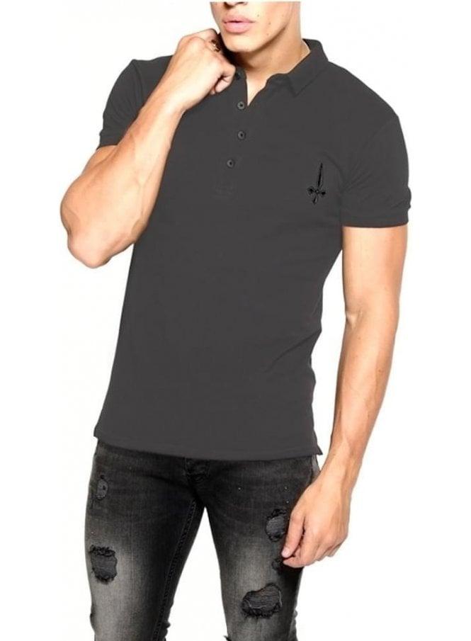 JUDAS SINNED Jersey Polo Tshirt Raven