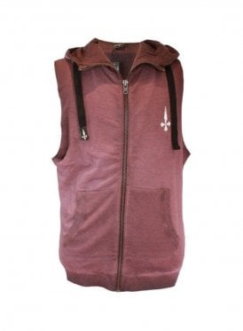 Judas Sinned Sleeveless Hoodie Grape