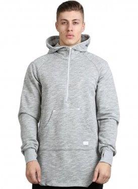 Aesthetic Raglan Sleeve Hoodie Grey