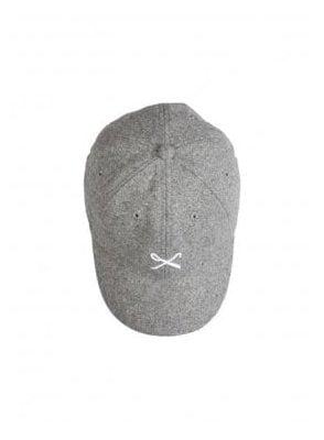 Hardgraft Curved Peak Wool Mix Baseba Grey