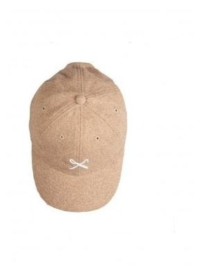 Hardgraft Curved Peak Wool Mix Baseba Tan