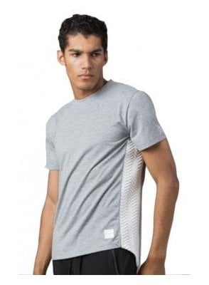 Interlock S/s Crew Neck Tshirt Grey