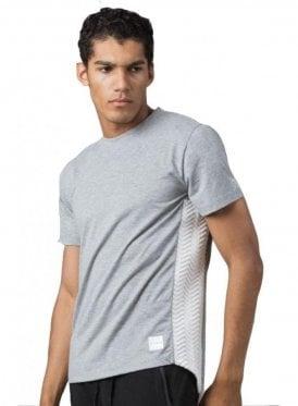 Interlock S/s Crew Neck Tshirt Grey