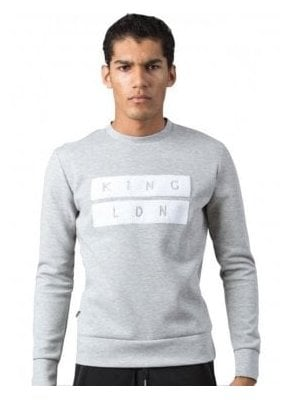 Ldn Crew Neck Sweater Jumper Top Grey