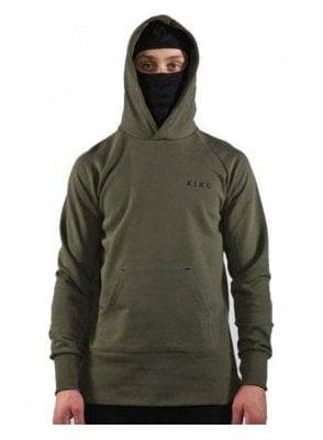 Stealth Hoodie Top Olive