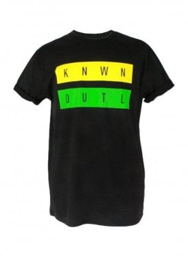 Known Crew Neck Logo Tee Black