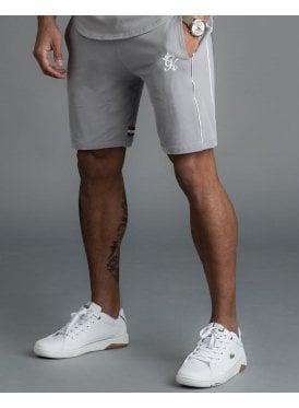 b2818582db76e Laver Retro Taped Shorts Silver Grey New. Gym King ...