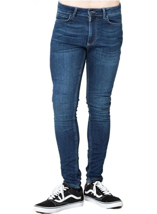 LEVEL 1 Standard Skinny Basic Denim Jean Indigo