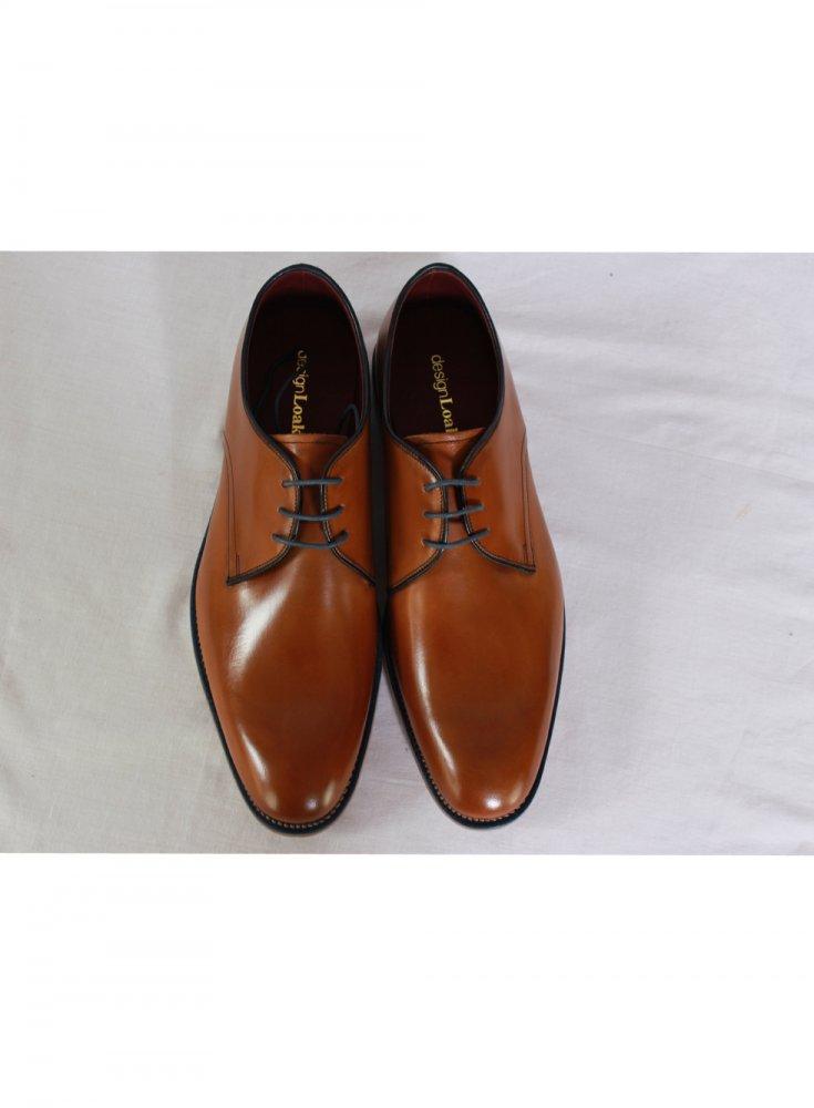 Black Loake Drake Plain Derby Shoe