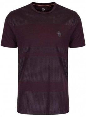 Bob Foxs Spot Print Tshirt Lux Shiraz
