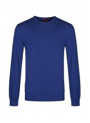 Gerard Crew Neck Jumper Royal Blue